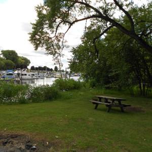 Tent Camping at Pettibone Resort in La Crosse, Wisconsin