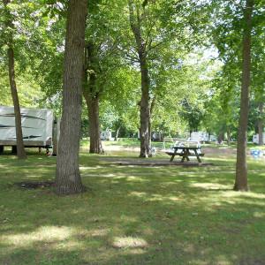RV Camping at Pettibone Resort in La Crosse, Wisconsin